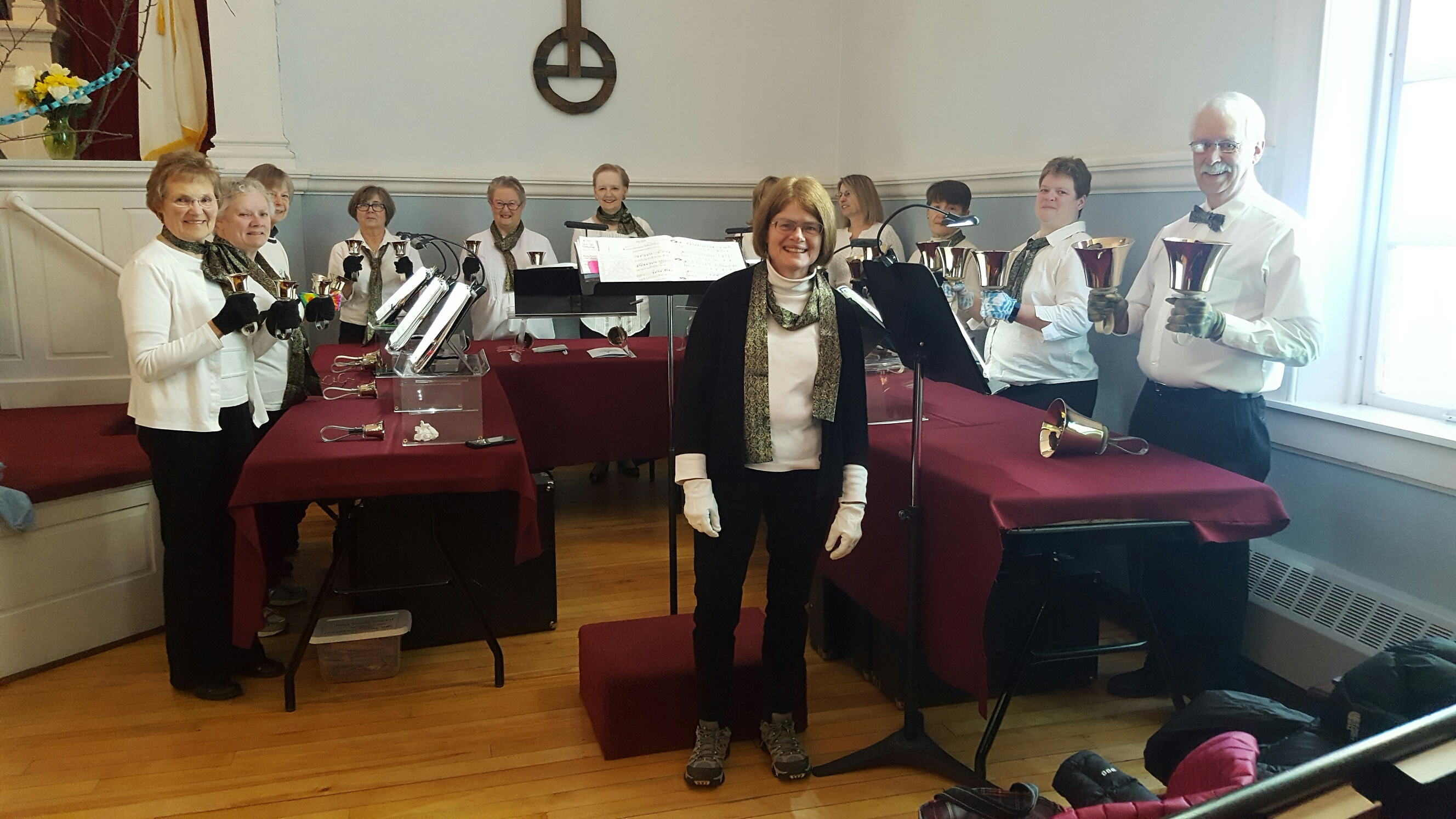 Jubilant Bells Perform During Church Service